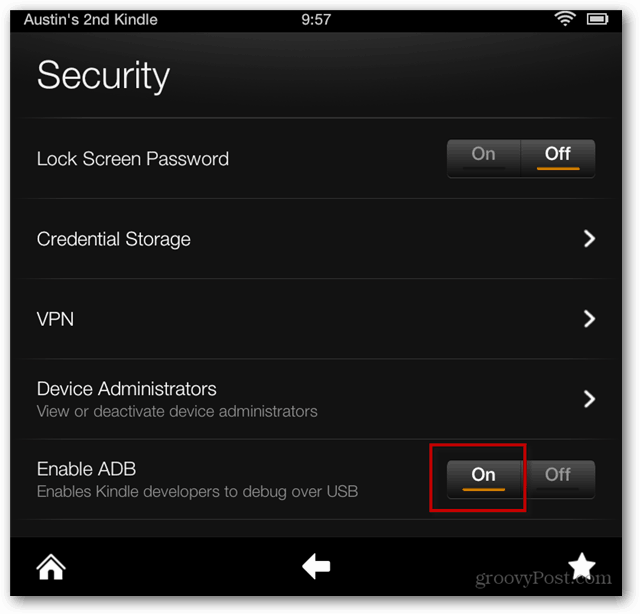 How to Enable USB Debugging on the Kindle Fire HD | groovyPost