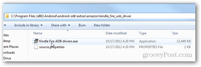 How to Connect the Kindle Fire HD to ADB for USB Debugging