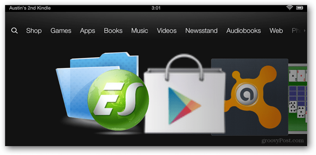 Google Play on the Kindle Fire HD