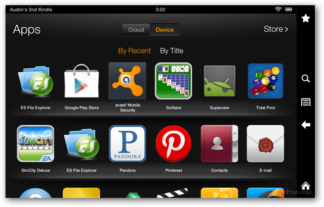 Google Play Store Kindle Fire