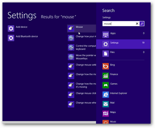 windows 8 mouse settings