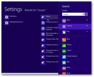 windows 8 mouse settings