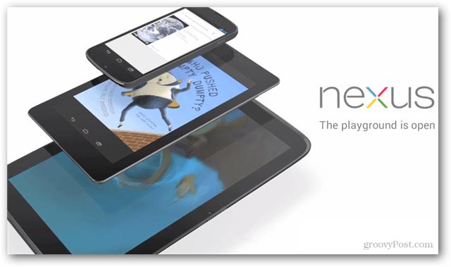 Google Nexus, now in 3 flavors