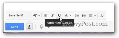 new gmail compose formatting