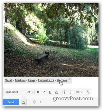 new gmail compose insert photos