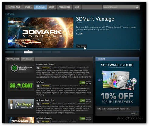 steam selling software