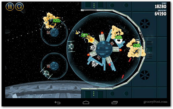 Angry Birds Star Wars Android Game Play