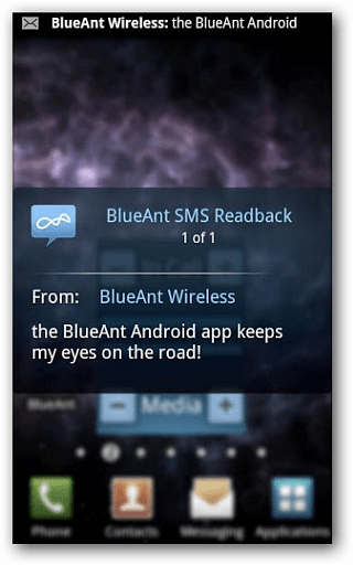 BlueAnt Android App