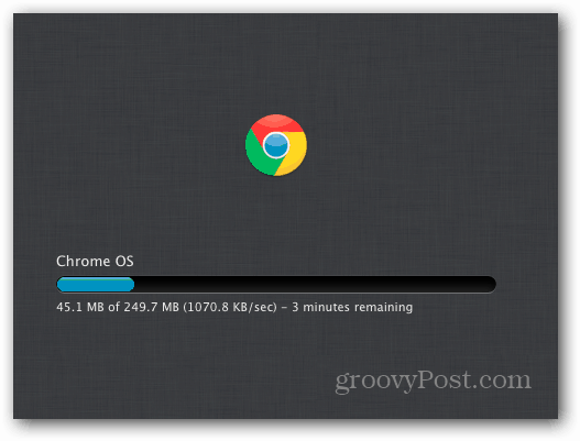 Chrome OS Downloading