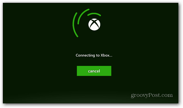 Connecting to Xbox