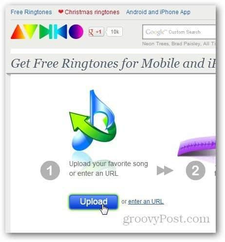 Create Ringtone Online