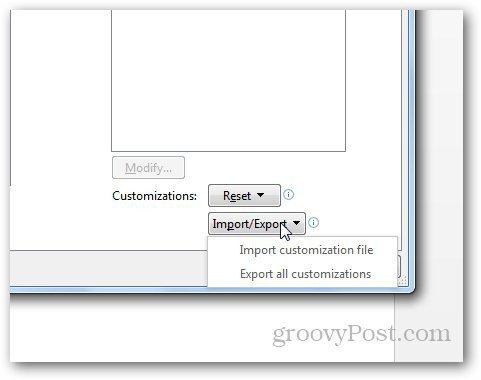 Customize Word Quick Access Toolbar 4