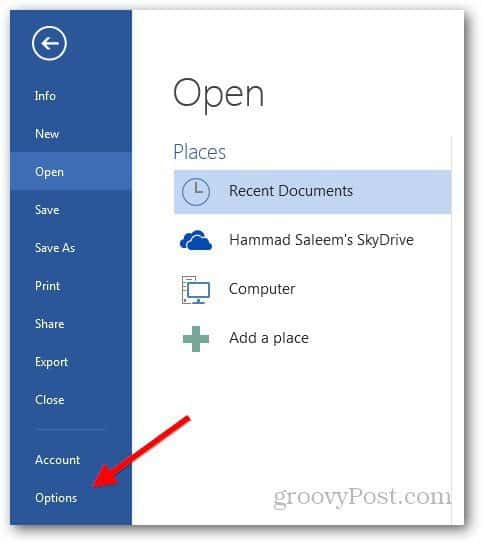Disable SkyDrive 1