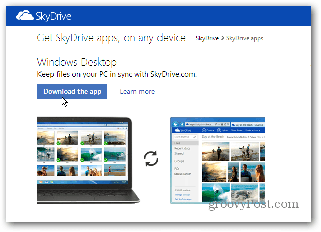 SkyDrive Desktop Update: Selective Sync, Dropbox-Like Sharing