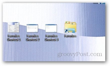 Favorites Shortcut 4