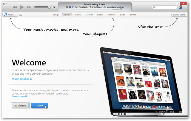 download itunes for windows not store