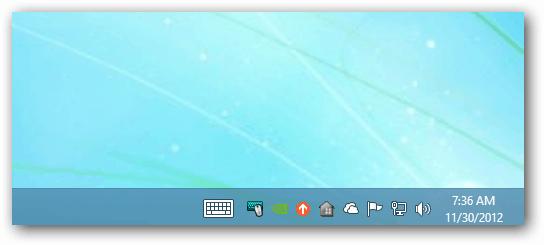 Keyboard Center Taskbar