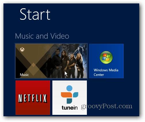 Launch Xbox Music