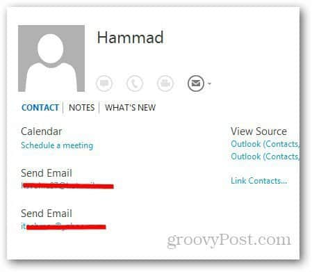 Merge Contacts Outlook 4