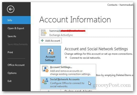 Social Networks Outlook 1