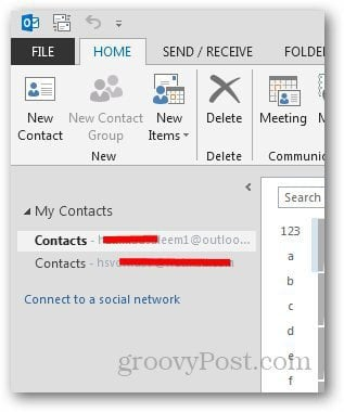 Social Networks Outlook 3