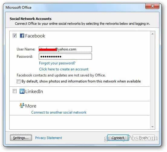 Social Networks Outlook 4