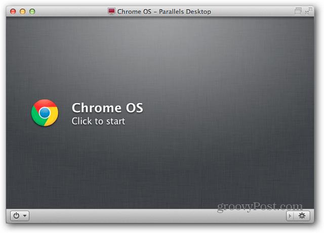 Start Chrome OS