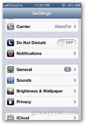 Use Custom Ringtone iPhone 1