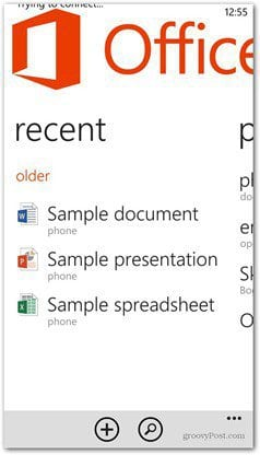 WP 8 Switch to task