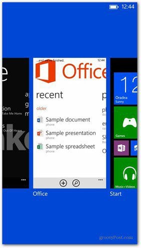 Windows Phone 8 Task Manager