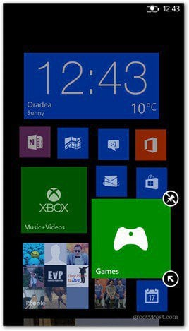 Windows Phone 8 customize tiles 1