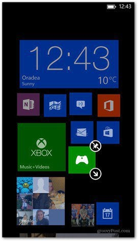 Windows Phone 8 customize tiles 2