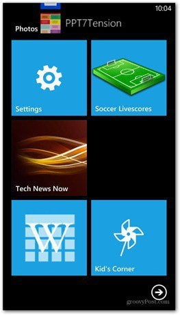 Windows Phone 8 master reset settings