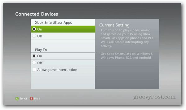 Xbox Connected Devices
