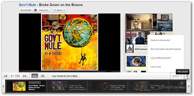 YouTube Disco Playlist