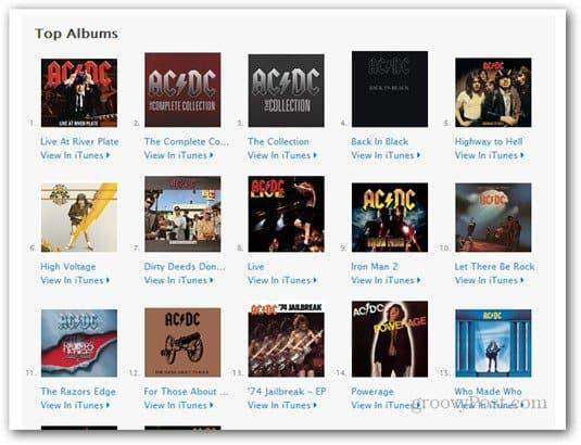 ac dc itunes albums