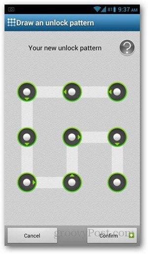 app lock pattern new