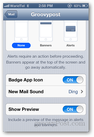 iPhone Custom Alerts 4