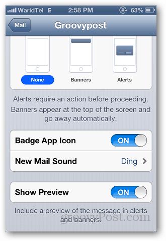 iPhone Custom Alerts 4