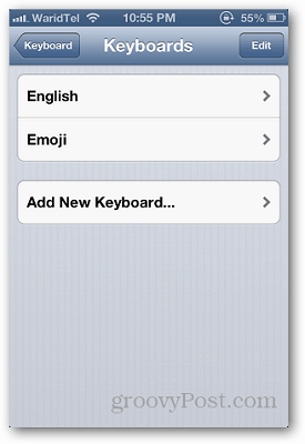 iPhone Keyboards 4