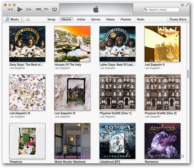 iTunes 11 Mac