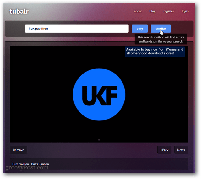 tublar youtube music engine