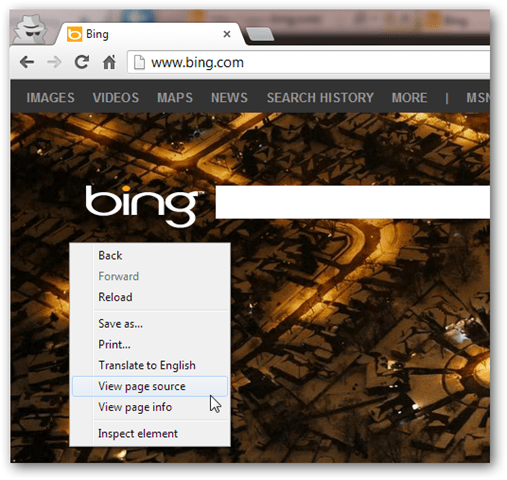 download bing image without facebook