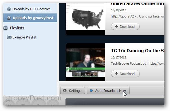 Backup miro channels