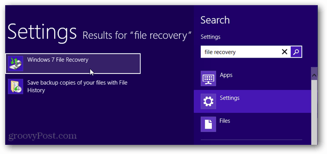 search metro windows 7 file recovery