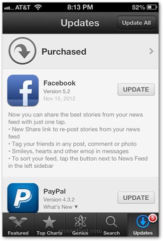 tag friends in facebook iphone app