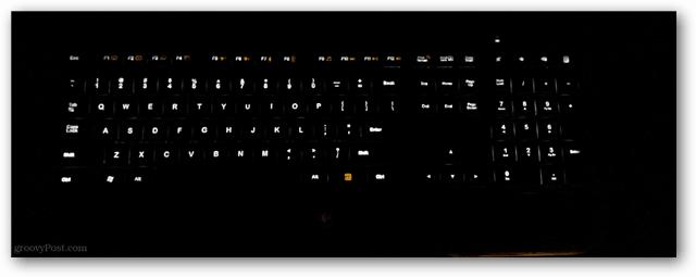 illuminated keys