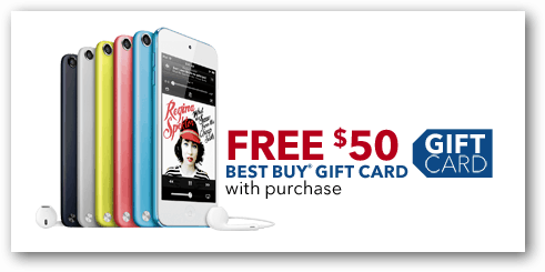 ipod touch gift card