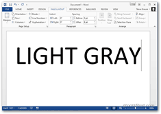 office 2013 change color theme - light gray theme