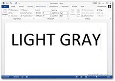 office 2013 change color theme - light gray theme
